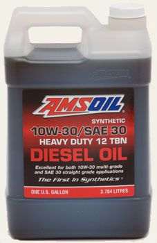 AMSOIL Synthetic 10W-30/SAE 30 Heavy Duty Diesel Oil (ACD)