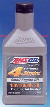 AMSOIL Formula 4-Stroke® 10W-30/SAE 30 Synthetic Small Engine Oil (ASE)