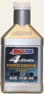 AMSOIL Formula 4-Stroke® 10W-40 Synthetic Scooter Oil (ASO)