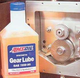 AMSOIL Synthetic Gear Lube Outperforms Valvoline Gear Lube