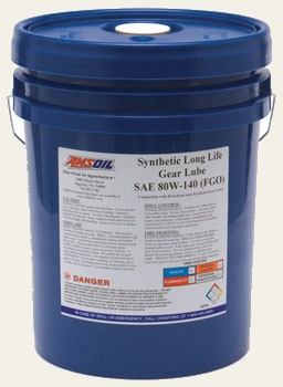 AMSOIL Long Life Synthetic Gear Lube SAE 80W-140 (FGO)