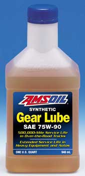 AMSOIL Long Life Synthetic Gear Lube SAE 75W-90 (FGR)