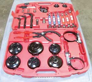 33-Piece Mechanics Lube Kit