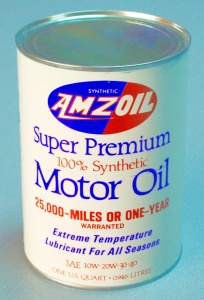 World's First Synthetic Motor Oil in 1972