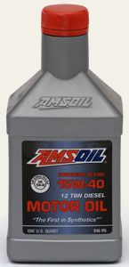 AMSOIL Synthetic Blend 15W-40 Heavy Duty Motor Oil (PCO)