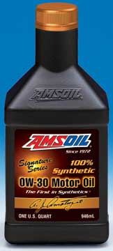 Amsoil synthetic motor oil signature for Amsoil signature series synthetic motor oil