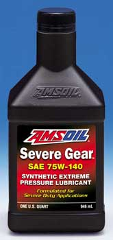 Severe Gear Synthetic Extreme Pressure (EP) Lubricant 75W-140
