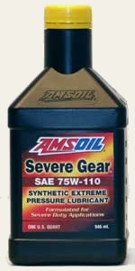 Severe Gear Synthetic Extreme Pressure (EP) Lubricant 75W-110
