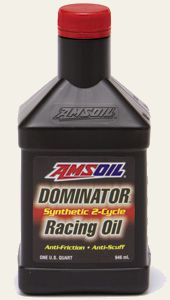 AMSOIL DOMINATOR Synthetic 2-Cycle Racing Oil