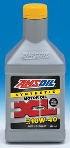 AMSOIL Extended Life 10W-40 Synthetic Motor Oil (XLO)